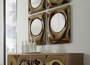 Bolla miroir, Miroir en verre courbé