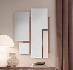 Break Up, Miroir aux géométries décomposées