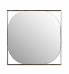 Circe miroir, Miroir avec cadre en acier