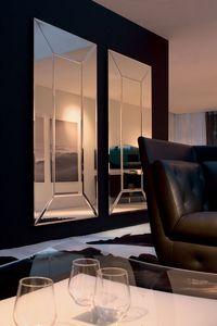COSTANTIA, Miroir personnalisable, pour les entrées et salles de séjour