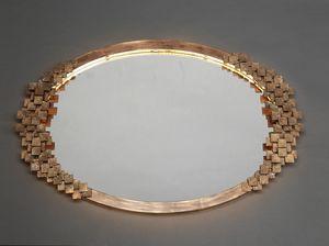 DAMA HF2019MI, Miroir ovale en fer