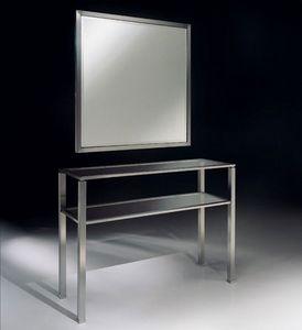 DOMUS 2192 MIROIR, Miroir classique en métal, pour les environnements résidentiels