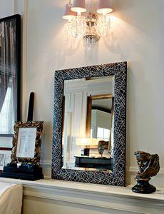Dress 281, Miroir avec cadre bicolore