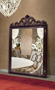 Gold Art. 4625, Grand miroir avec cadre sculpt�