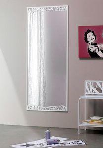 Green Mirror, Miroir avec un cadre métallique mince