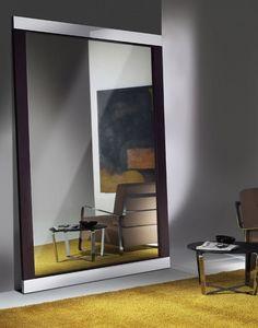 Hadaka, Miroir design avec structure en acier et stratifié