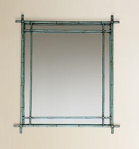 HF2011MI, Miroir carré avec cadre