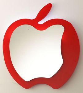 k193 fruit, Moderne miroir en forme de pomme