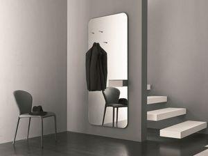 k195 hally, Miroir avec rangement idéal pour l'entrée de la maison