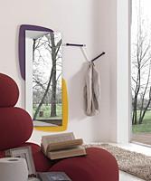 k198 visual, Miroir avec panneau arrière avec éclairage LED
