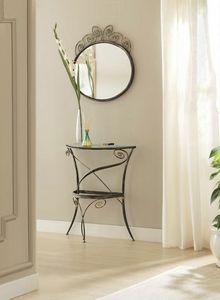 Klimt mirror, Miroirs avec cadre en fer élaboré
