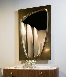 LAPETO miroir GEA Collection, Miroir avec cadre bronzé