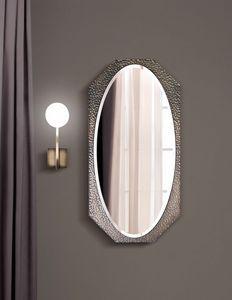 Marylin miroir, Miroir avec cadre octogonal