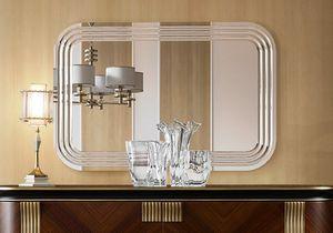 Oliver Art. OL03/S, Miroir naturel avec incisions radiales
