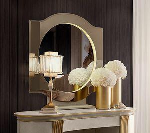 Oliver Art. OL80/S, Miroir rond pour chambre