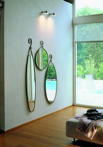 Porgy, Miroirs avec cadre en fer forgé à la main