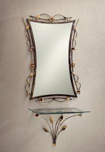 SP/300, Miroir en fer forg� et d�cor�e