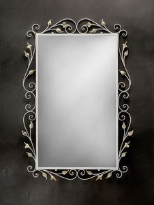 SP/310, Miroir rectangulaire avec cadre en fer forg�