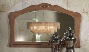 SP34 Charme, Miroir en bois marqueté, pour les hôtels et restaurants