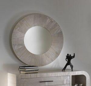 Specchio Kristal, Miroir rond dans le style ethnique