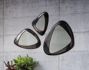 Terno, Miroir avec cadre en métal