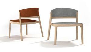 Abuela Lounge Wood, Chaise longue en bois de hêtre