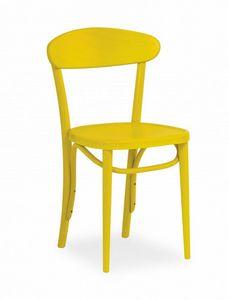 B11, Chaise en bois design simple