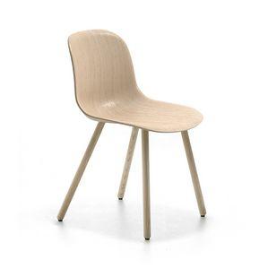 Máni Wood 4WL, Chaise en bois moderne