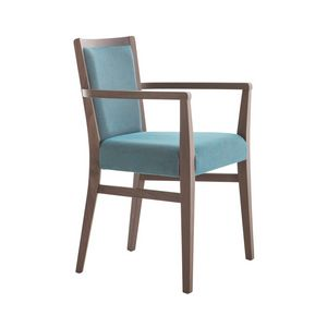 MP472HP, Chaise moderne avec accoudoirs pour restaurant
