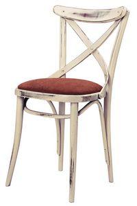 SE 431/IMB, Chaise en bois avec dossier transversal