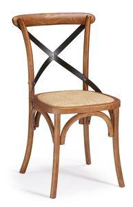 SE 431/M1, Chaise en bois avec une croix de fer