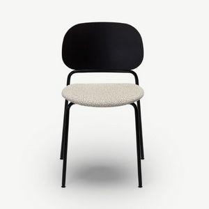 Upon, Chaise empilable avec structure en métal
