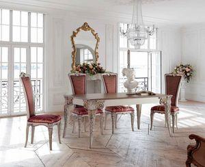 Tablerectangulaires extensibles  et chaises, Outlet table à manger et chaises