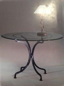 Diva TA/904, Table ronde avec base en fer forgé