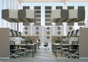 AIRTWIN, Panneau acoustique modulaire, panneaux insonorisants de couleur