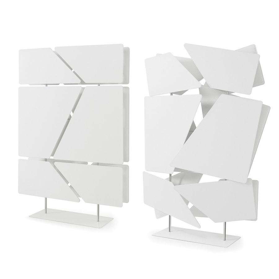 Flat totem, Séparateur composé de 12 panneaux insonorisants