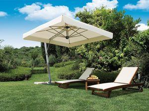 Firenze arm, Grand parasol, forme carrée