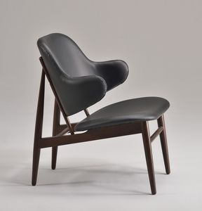 ALMA fauteuil 8618A, Chaise rembourrée avec des lignes modernes
