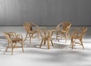 Barina fauteuil, Fauteuil Barina en junchet naturel