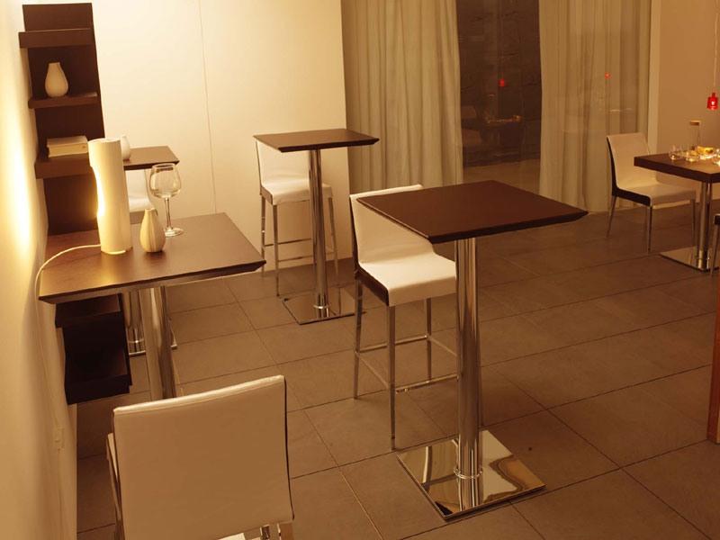 ART. 504, Top carré en bois pour les tables de café