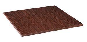 Table en acajou palissandre mélamine, Table en acajou palissandre mélamine