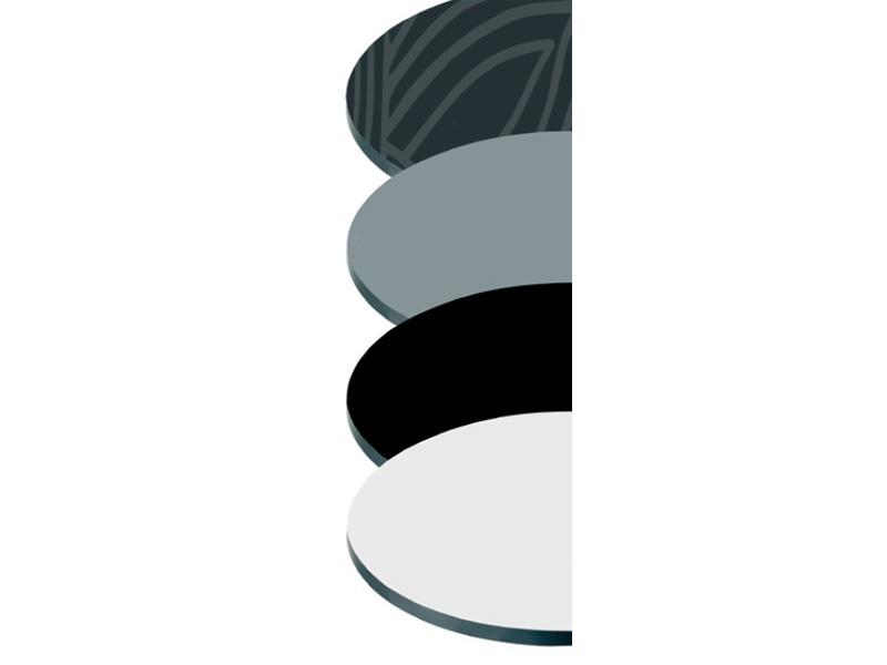 Tops compactop cod. 122 cod. 123 cod. 124 cod. 125, Plan de table de bar, en différentes couleurs