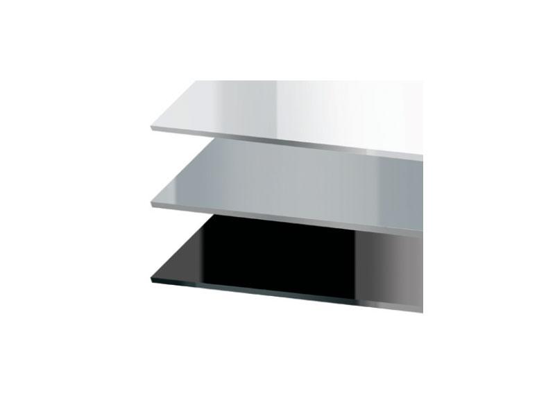 Tops luxury cod. 150 cod. 151, Plateau carré pour la table de bar, en acrylique