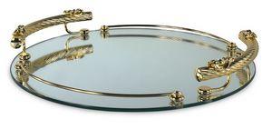 1402, Plateau en verre miroir