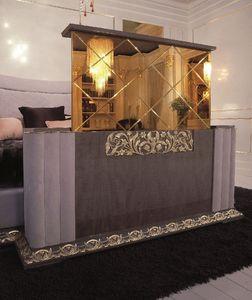 Art. 112, TV-stand avec mécanisme de pliage, style classique de luxe