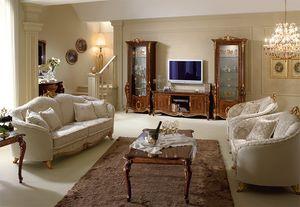 Donatello meuble tv, Meuble TV en bois, la qualité italienne, pour le salon