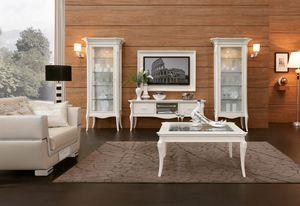 MONTE CARLO / Meuble TV de cinéma à domicile, Élégant meuble TV pour salon