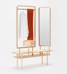 Etta wardrobe, Cintre de commode, avec miroir