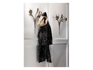 Fleur portemanteau, Mur cintre, de fleur en forme de m�tal