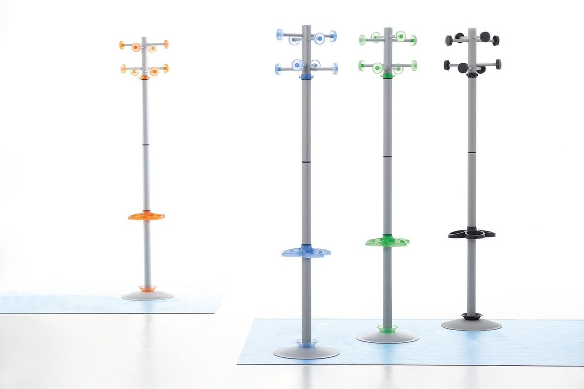Rainbow, Hanger avec cadre en métal, en polymère de détails